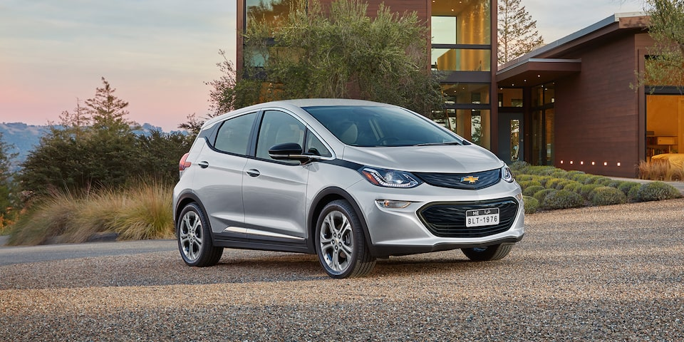2019 Chevrolet Bolt EV: Front View