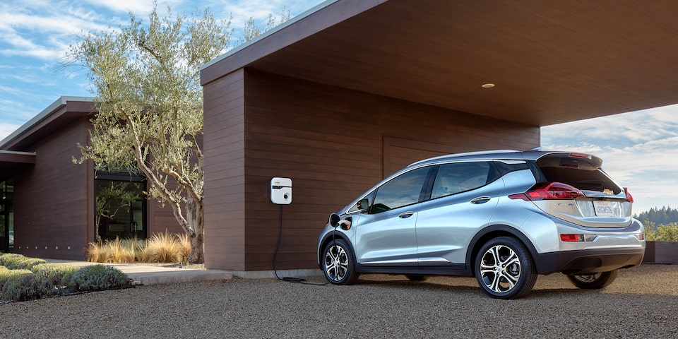 2019 Chevrolet Bolt EV side view Promo Tile