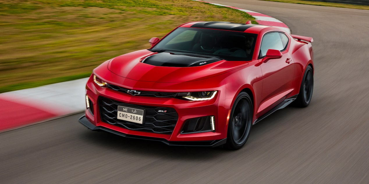 2018 Camaro ZL1 Red Front View