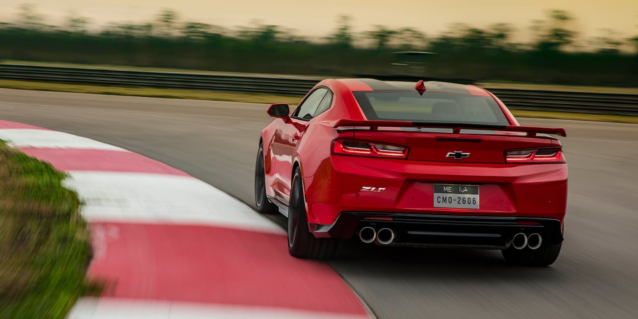 2018 Camaro ZL1 Rear View Shot