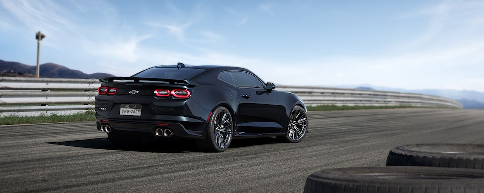 2019 Camaro ZL1 Back Side View