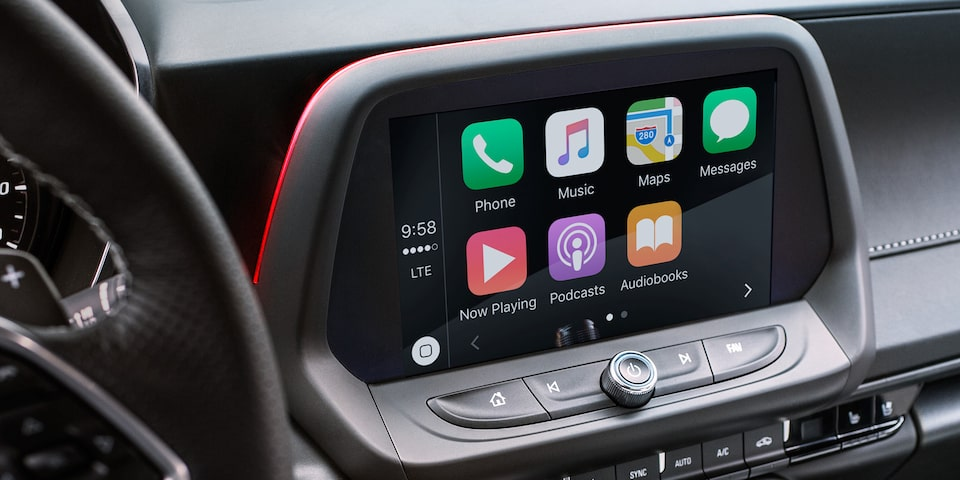 2019 Chevrolet Camaro ZL1 Sports Car  Chevrolet Infotainment Screen