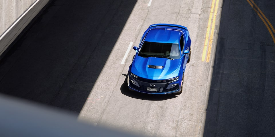 2019 Camaro Exterior Shot: Top View