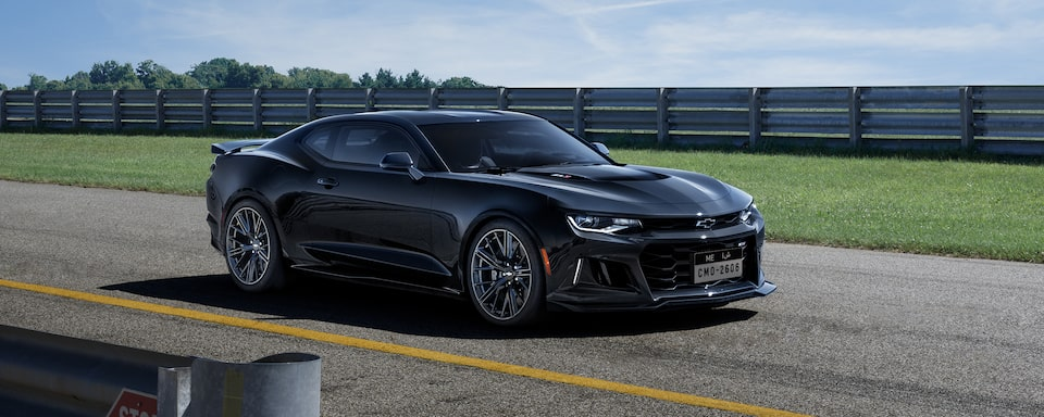 2019 Camaro ZL1 Exterior Shot: Side View