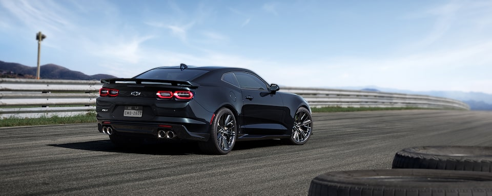 2019 Camaro ZL1 Exterior Shot: Rear View