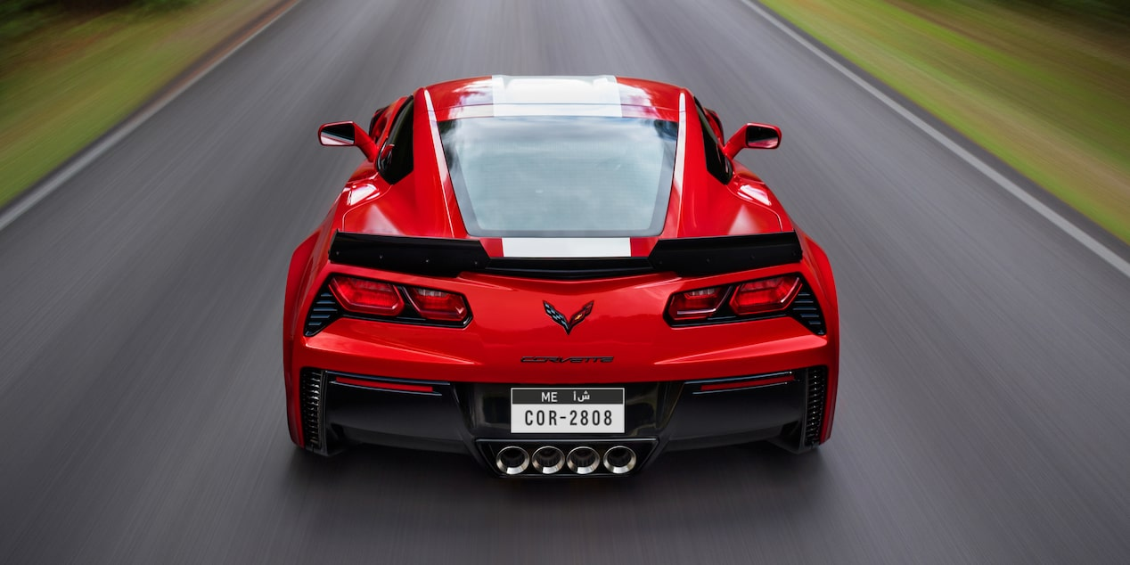 2019 Corvette Grand Sport Sports Car Design: rear