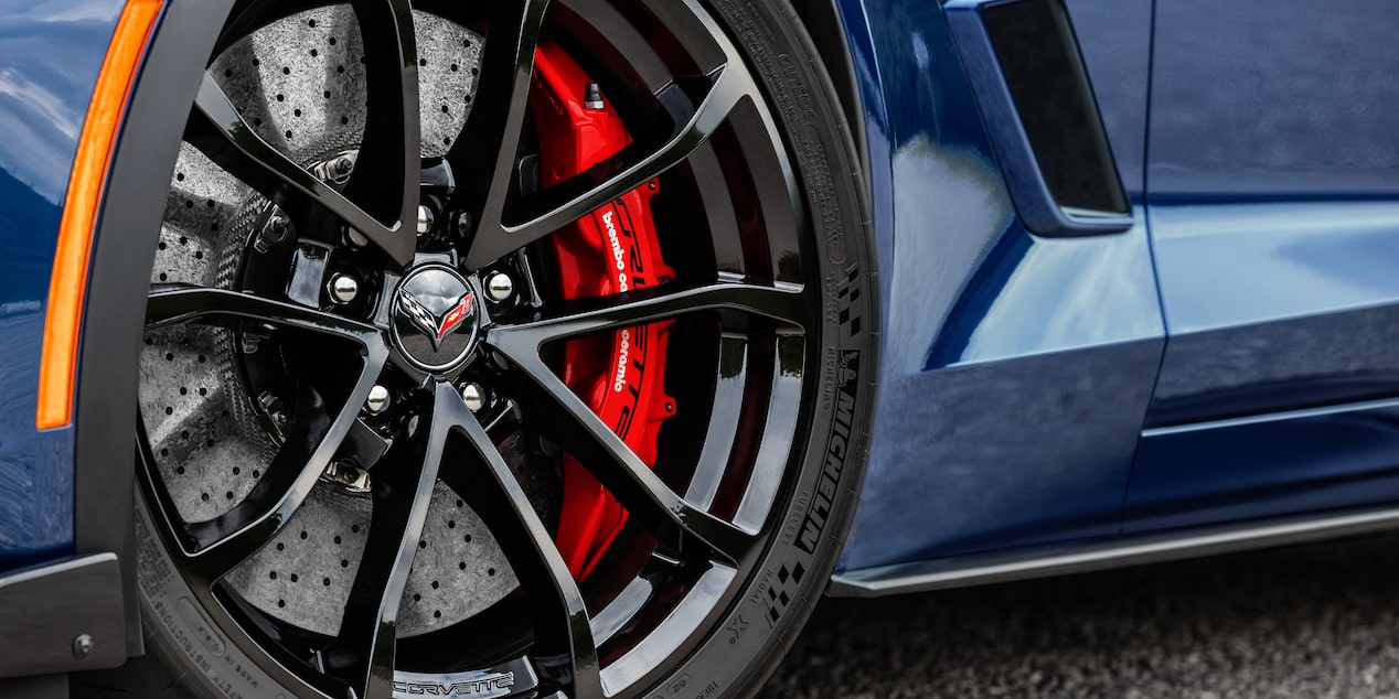 2019 Corvette Grand Sport Sports Car Design: wheel