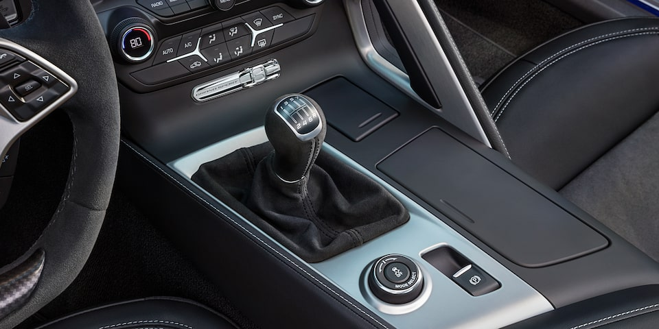 2019 Corvette Grand Sport Sports Car Design: shifter knob