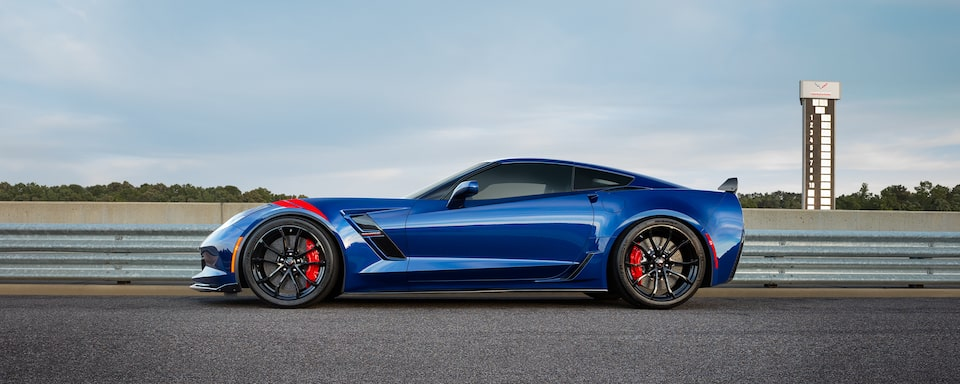2019 Corvette Grand Sport Sports Car Performance: side
