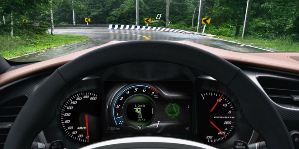 Corvette Mode Selector: weather