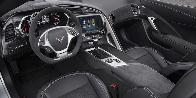 2019 Corvette Stingray Interior Photo: cockpit