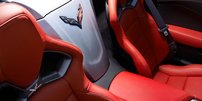 2019 Corvette Stingray Interior Photo: seats