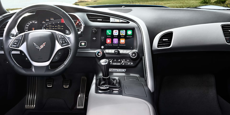 2019 Corvette Stingray Sports Car Technology: color touch dashboard