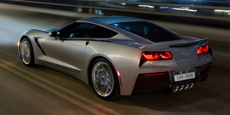 2019 Corvette Stingray Sports Car Design: rear side
