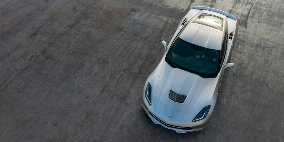2019 Corvette Stingray Sports Car Design: top