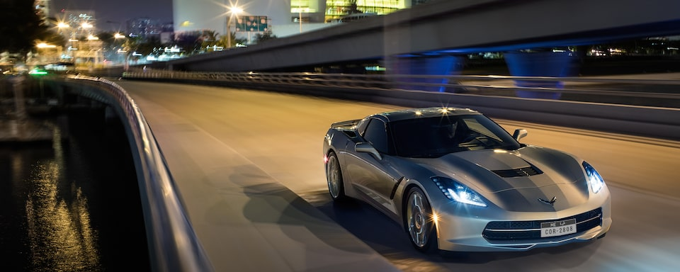 2019 Corvette Stingray Sports Car Performance: front