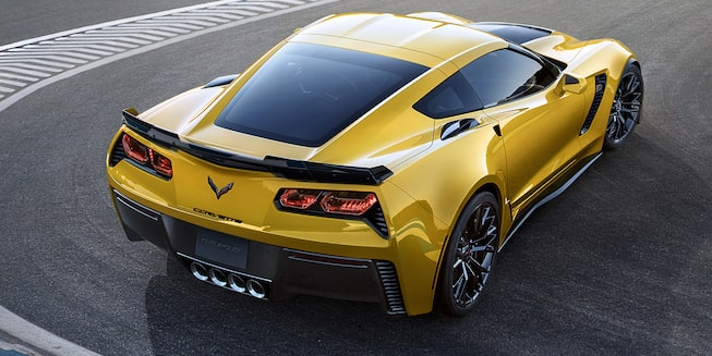 2019 Corvette Z06 Exterior Photo: top back