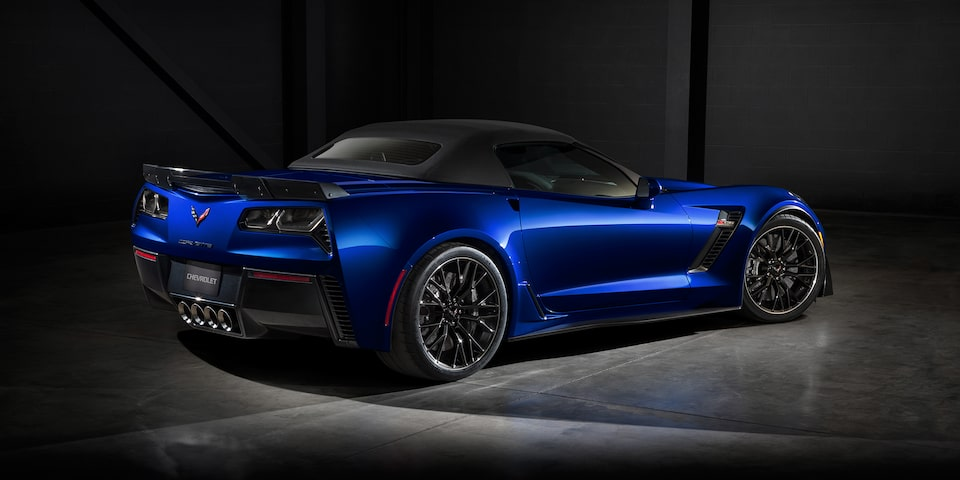2019 Corvette Z06 Super Car Design: convertible rear