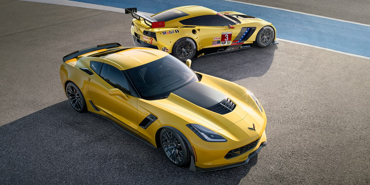 2019 Corvette z06 Super Car: Side