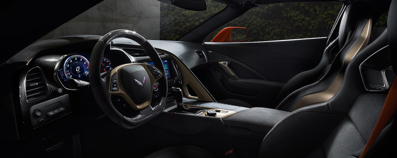 2019 Corvette ZR1 Supercar: front seats