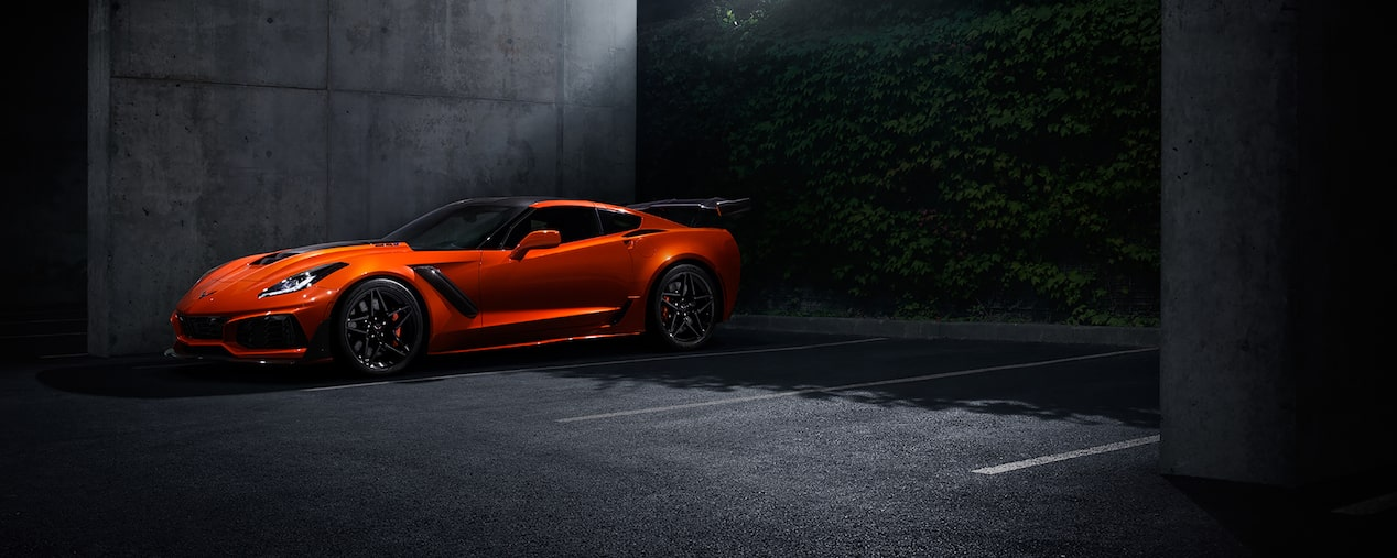 2019 Corvette ZR1 Supercar: side view