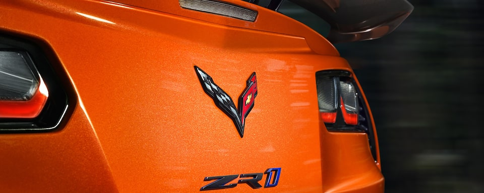 2019 Corvette ZR1 Supercar: rear badging