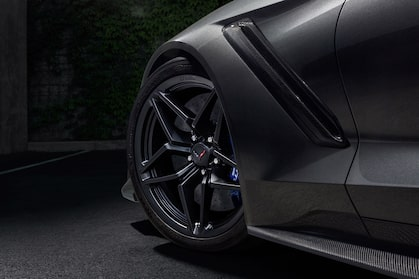 2019 Corvette ZR1 Supercar: aluminum wheels