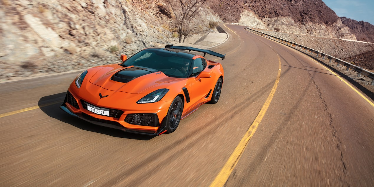2019 Corvette ZR1  Sports Car Safety