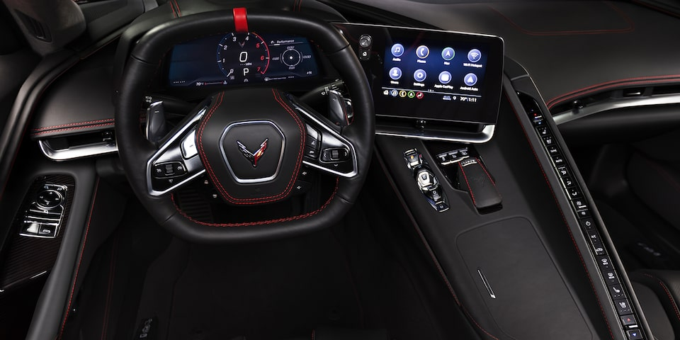 2020 Chevrolet Corvette Mid-Engine Sports Car Instrument Panel
