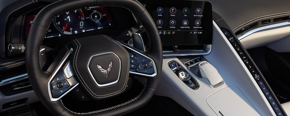 2020 Chevrolet Corvette: Interior Technology