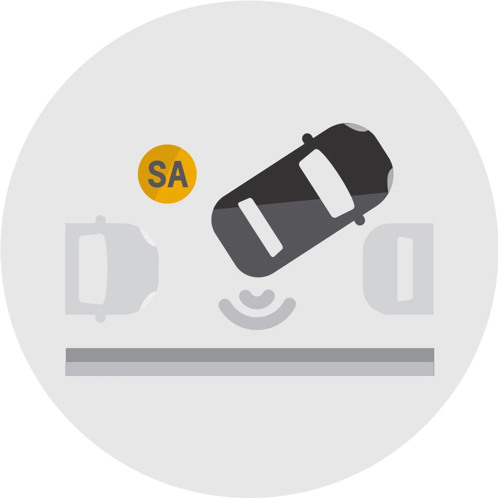 Automatic Parking Assist Icon