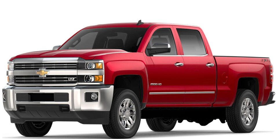 Silverado HD side view