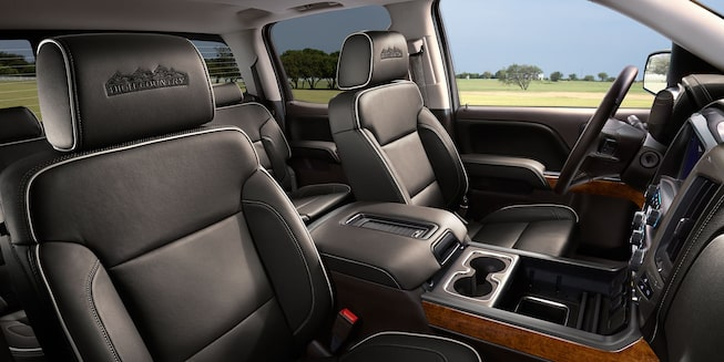 2018 Chevrolet Silverado LD High Country Interior Passenger Seats