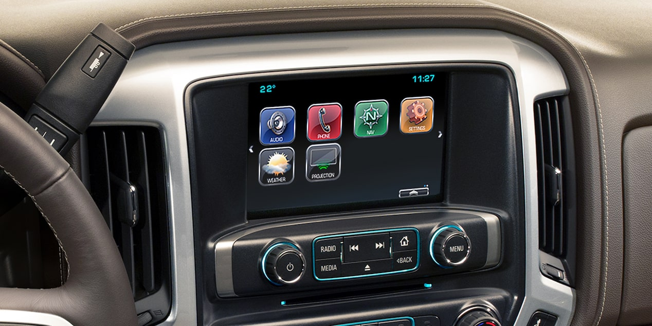2018 Silverado LD interior display