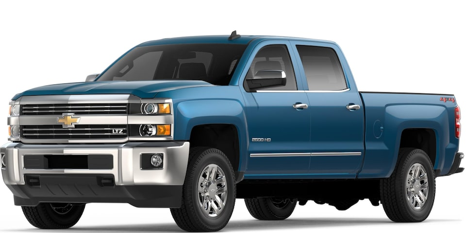 Silverado 2500 HD in Deep Ocean Blue Metallic