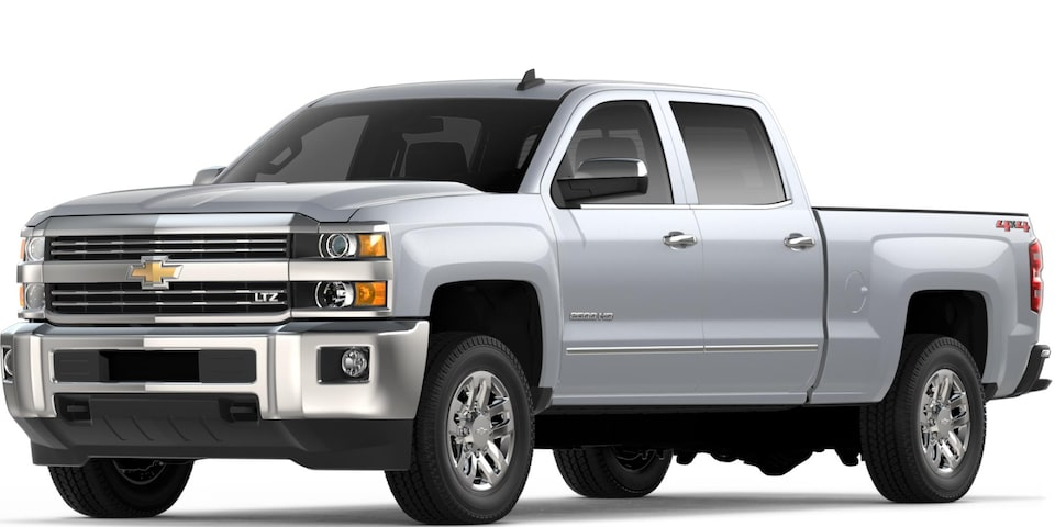 Silverado 2500 HD in Silver Ice Merallic