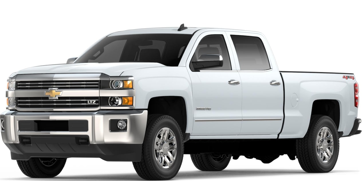Silverado 2500 HD in Summit White