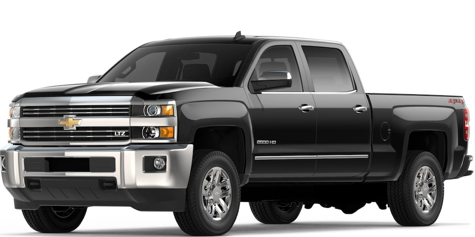 Silverado 2500 HD in Black
