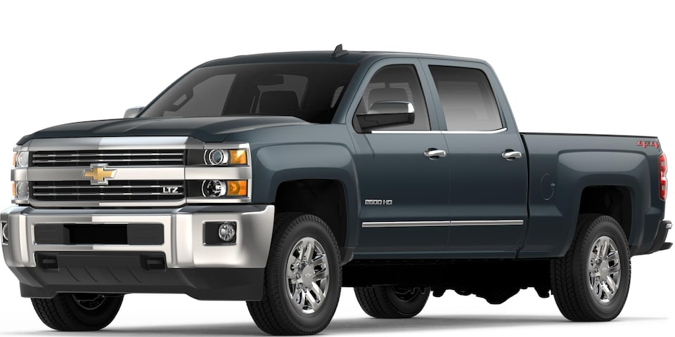 Silverado 2500 HD in Graphite Metallic