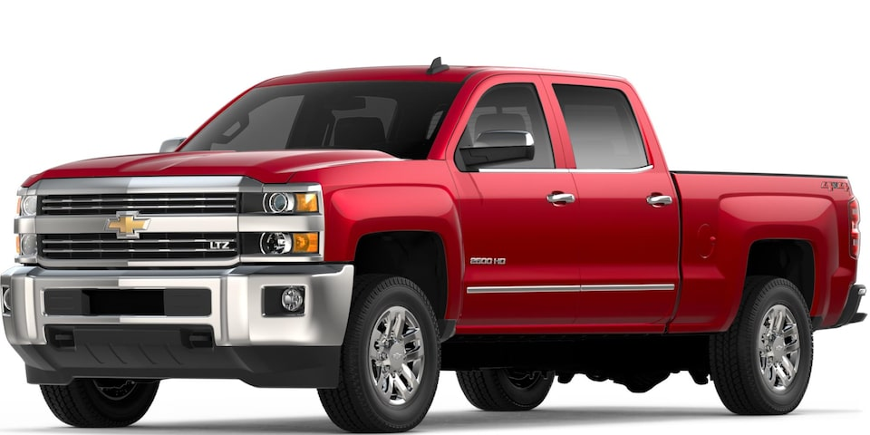 Silverado 2500 HD in Cajun Red Tintcoat