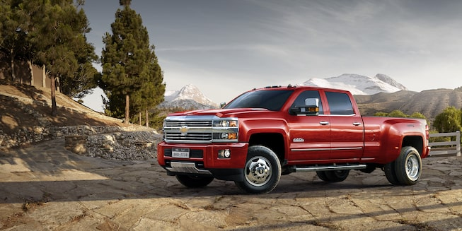 2019 Silverado HD Heavy Duty Truck Exterior Photo