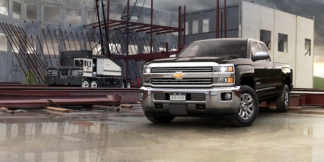 2019 Silverado HD Heavy Duty Truck Exterior Photo: side