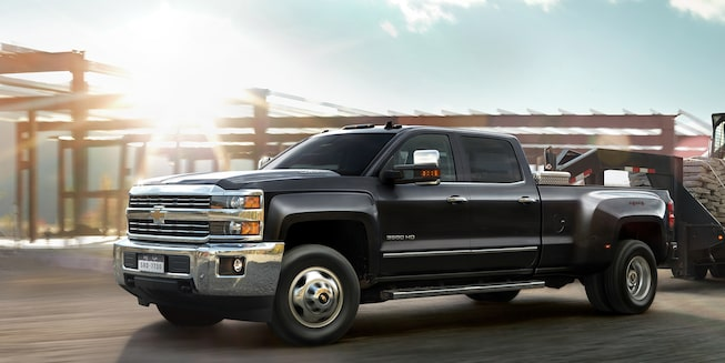 2019 Silverado HD Heavy Duty Truck Exterior Photo: top view