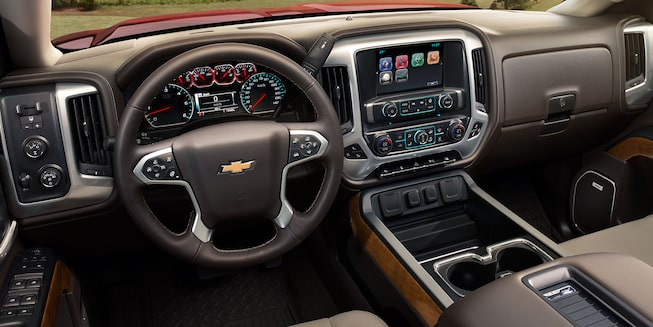 2019 Silverado HD Heavy Duty Truck Interior Photo: dashboard
