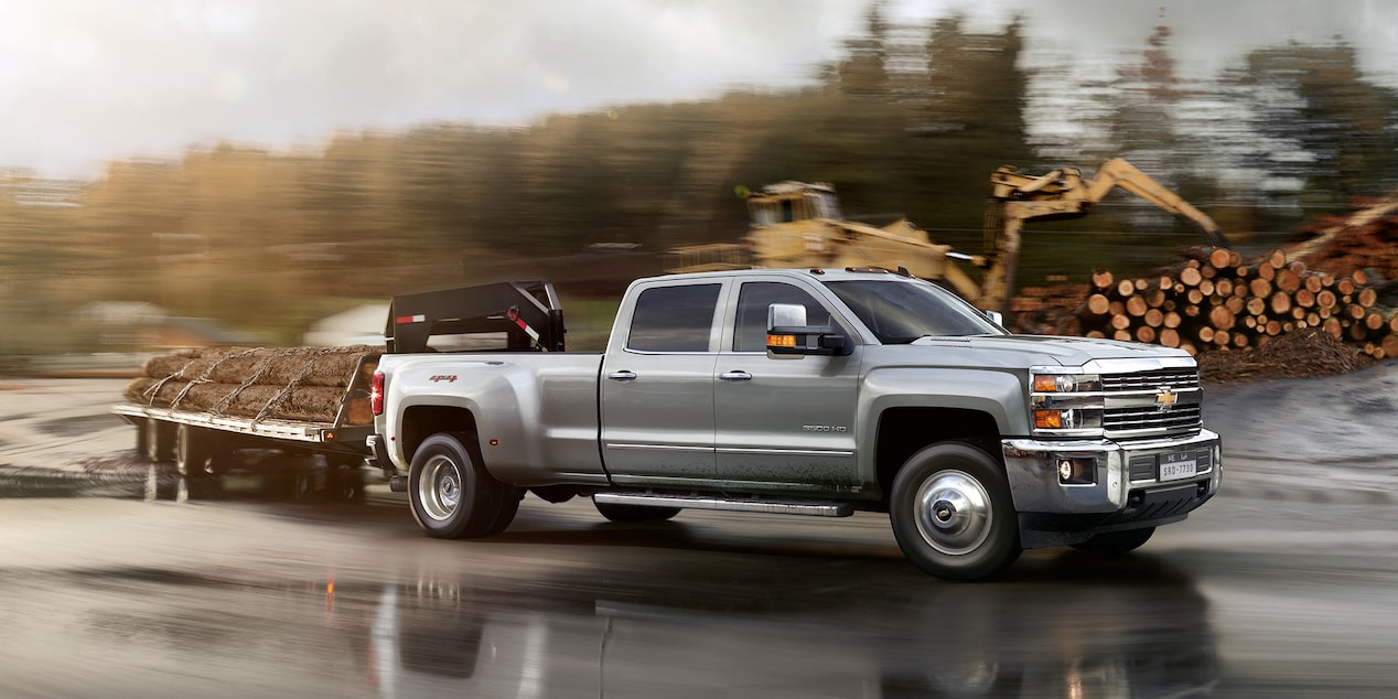 2019 Silverado HD Heavy Duty Truck Performance: advanced towing