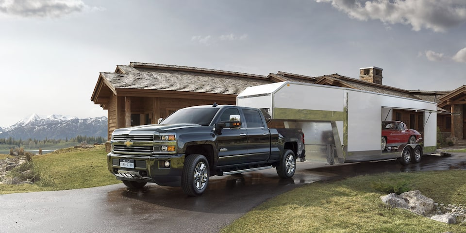 2019 Silverado HD Heavy Duty Truck Performance: trailer sway control 1