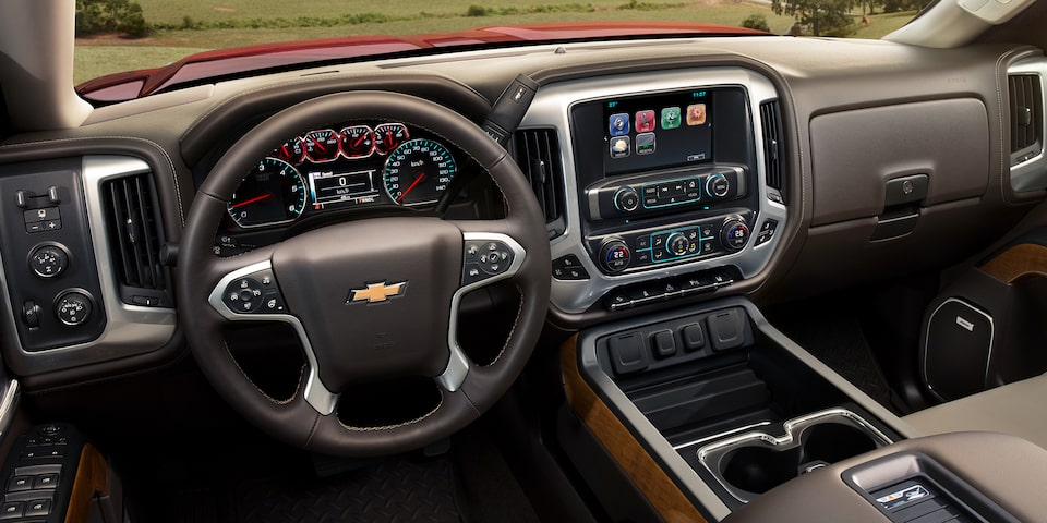 2019 Silverado HD Heavy Duty Truck Technology: dashboard with MyLink