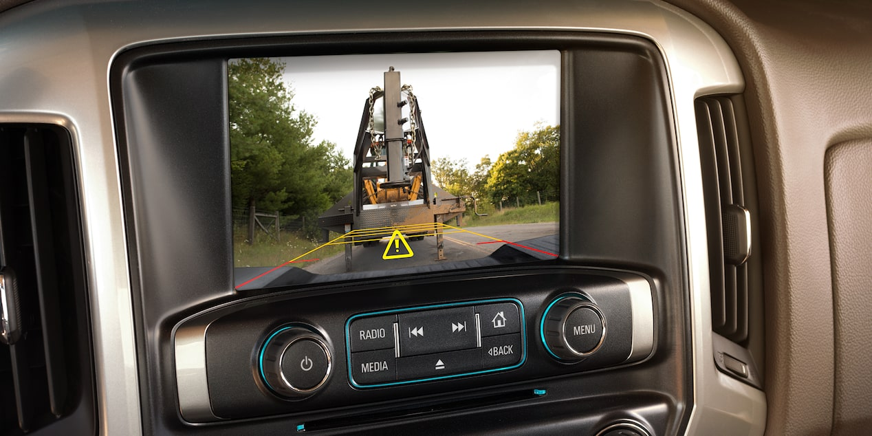 2019 Silverado HD Heavy Duty Truck Technology: rear vision camera