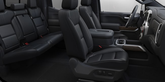 2019 Silverado 1500 Truck Interior Features: Comfortable Seating