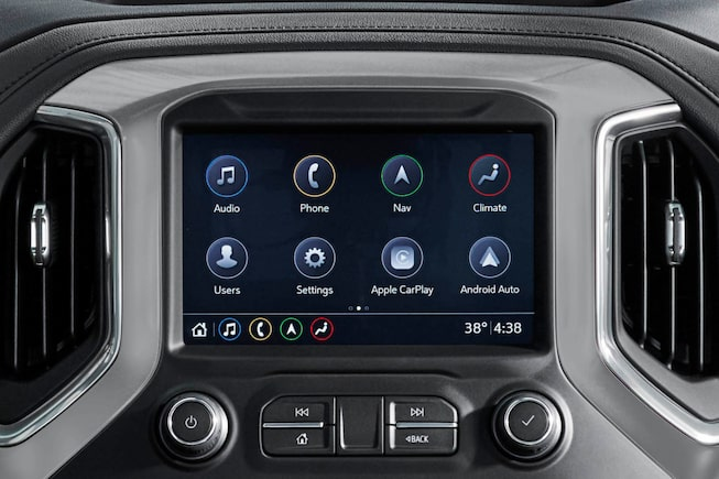 2019 Silverado 1500 Truck Interior Features: Color Touch Screen Radio